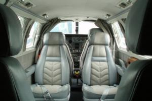 Cessna T303 Interior - Air Taxi Charter