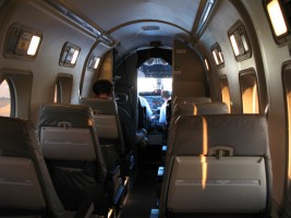 Beech 1900 Charter Aircraft Interior