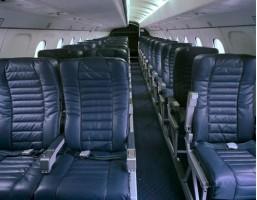 Saab 340 Charter Turboprop Interior