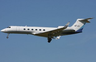 Gulfstream G550 Executive Jet