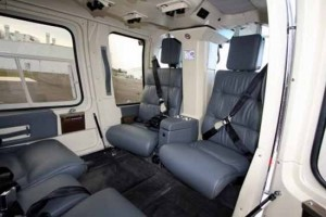 B206 Charter Hire Helicopter Interior
