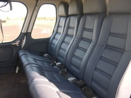 Twin Squirrel Charter Helicopter Interior