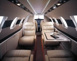 Business Jet - Citation CJ1 Interior