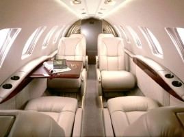 Business Jet - Citation CJ2 Interior