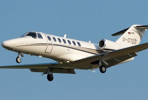 Jet Charter on Citation CJ3