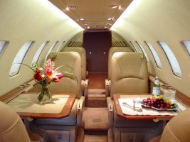 Private Charter Jet - Citation Ultra Interior