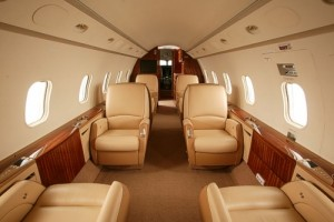 Challenger 300 Private Jet Interior
