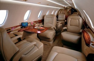 Citation Sovereign Private Jet Interior
