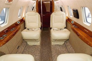 Citation X Aircraft Interior