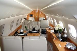 Embraer Legacy Charter Jet Interior
