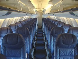 CRJ 900 Regional Jet Charter Interior