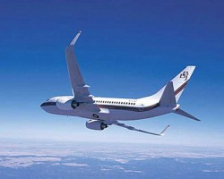 Boeing BBJ Private Charter Jet