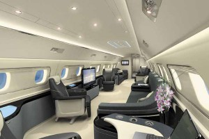 Embraer Lineage Private Jet Interior