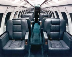 Jetstream 31 Charter Turboprop Interior