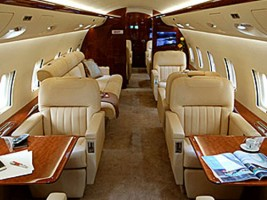 Challenger 850 Private Jet Interior