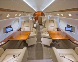 Gulfstream G200 Executive Jet Interior