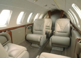 Business Jet - Citation CJ3 Interior