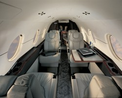 Hawker 400XP Private Jet Interior