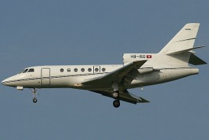 Falcon 50 Corporate Jet
