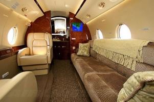 Gulfstream G200 Executive Jet Interior