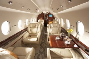 Hawker 4000 Private Jet Interior